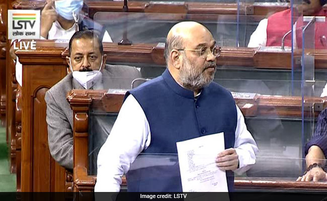 """""""J&K Will Get Statehood At Appropriate Time"""": Amit Shah In Lok Sabha"""