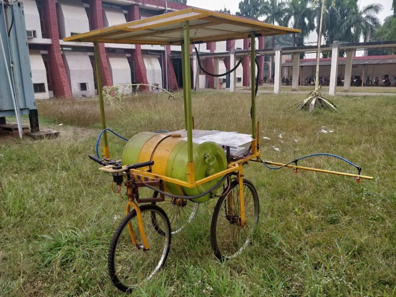IIT Kharagpur develops Solar-powered Pest Control System for smaller farm fields