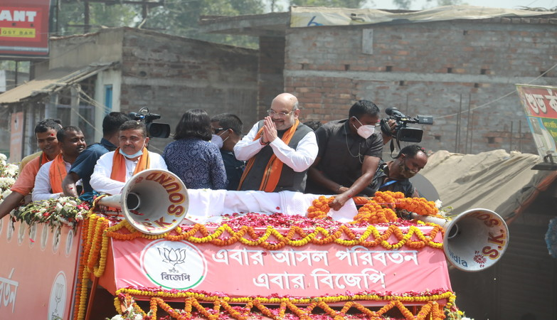 'How can women be safe in Bengal if crime against them takes place despite the presence of the CM in the area', says Shah