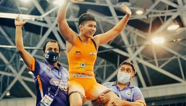 India's Priya Malik wins gold medal at World Cadet Wrestling Championship in Budapest