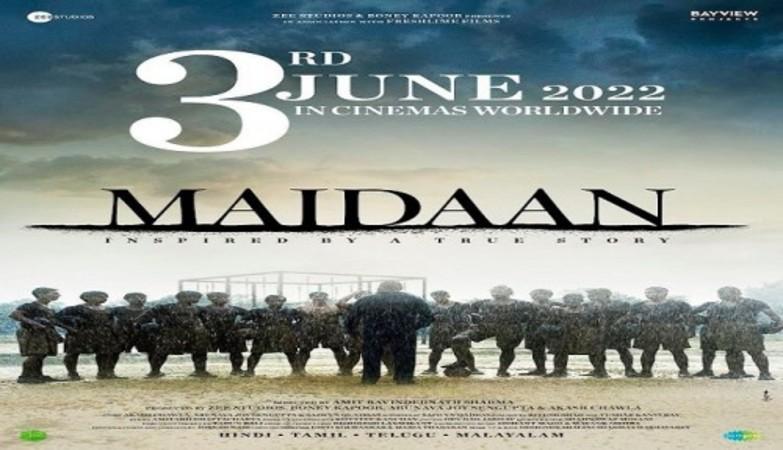 Ajay Devgn's football flick 'Maidaan' to release on 3 June, 2022
