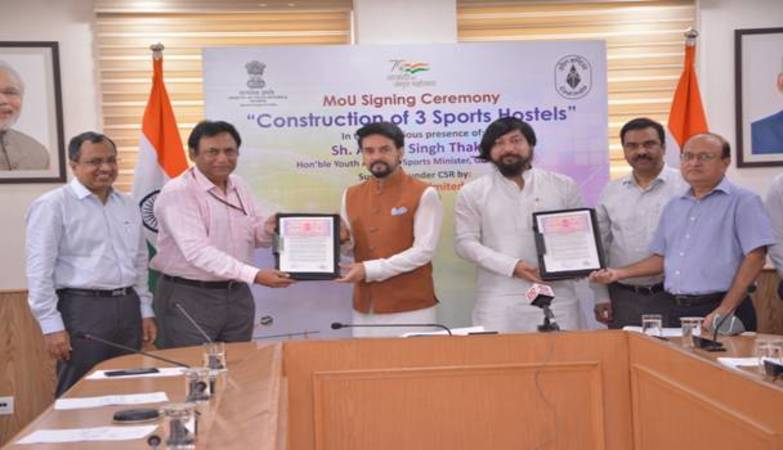 CIL to fund construction of three hostels for sportspersons