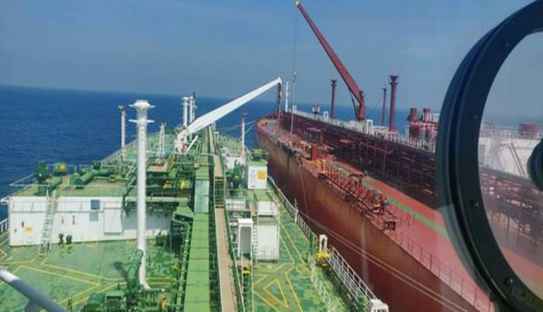 For the first time, Ship-to-Ship operation of LPG undertaken at Syama Prasad Mookerjee Port