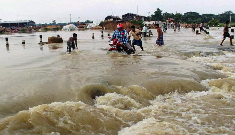 Incessant rains in upper catchment areas of five rivers cause enough for huge inundation in Bengal