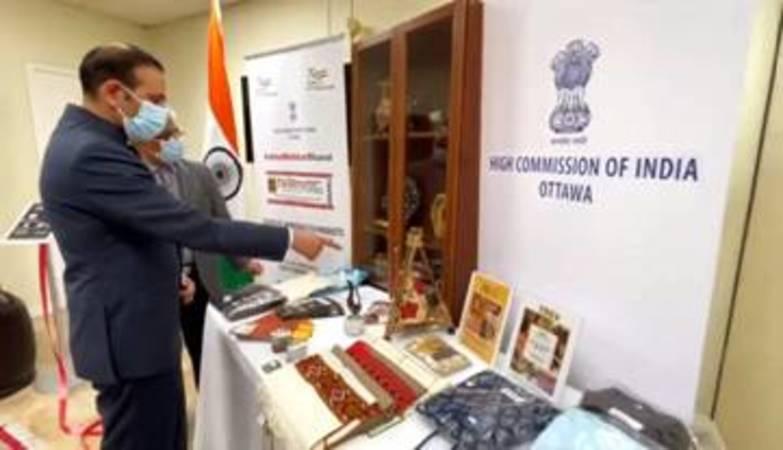 India opens 'Tribal Corner' in Canada to showcase GI-Tagged Indian Tribal Art